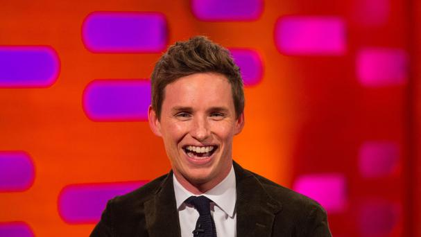 Eddie Redmayne said he felt like a 'wannabe Justin Bieber' after appearing in front of thousands of people at Comic Con