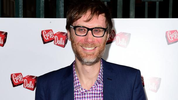 Comedian Stephen Merchant appears in the new X-Men film Logan