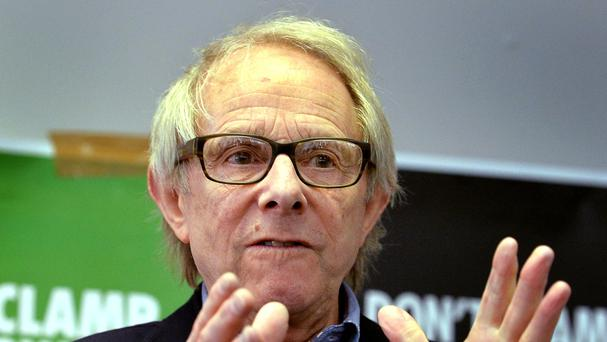 Ken Loach has accused the Government of being either