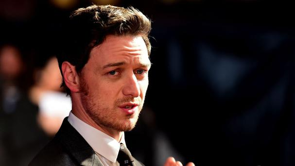 James McAvoy said he tried to be