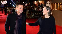 Brad Pitt and Marion Cotillard shared 20 days together before filming began on Allied.