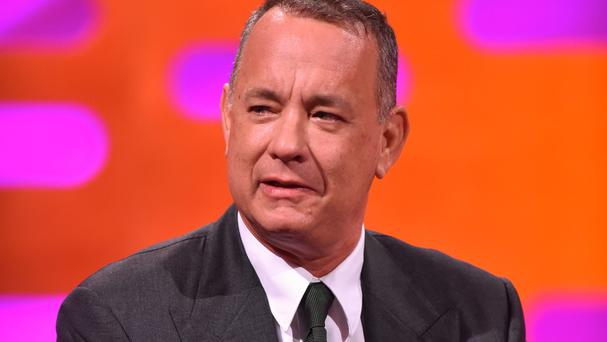 Tom Hanks discusses his new film, Sully: Miracle On The Hudson, on The Graham Norton Show, to be aired on BBC One on Friday evening.
