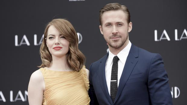 Emma Stone and Ryan Gosling star in La La land