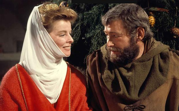 Ardmore veteran: Peter O'Toole in the Lion in Winter with Katharine Hepburn