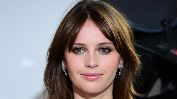 Felicity Jones is among the presenters at this year's Golden Globe Awards