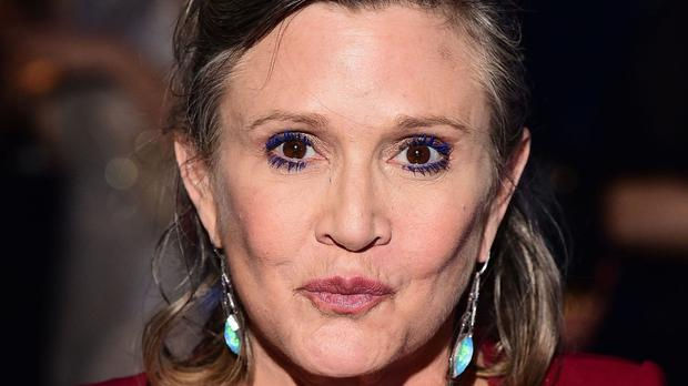 Carrie Fisher died aged 60 after a heart attack
