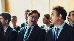 In the running: John C Reilly and Colin Farrell in The Lobster
