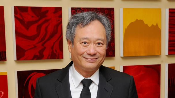 Ang Lee is promoting his new film about a US soldier acclaimed as a hero for his service in Iraq