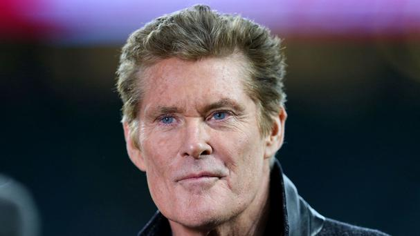 David Hasselhoff starred in the original Baywatch TV series, but plays a different character in the new film version