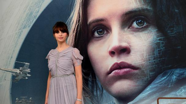 Felicity Jones is among the nominees for her role in Rogue One