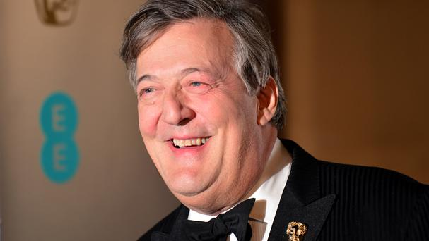 Stephen Fry hosted the Baftas