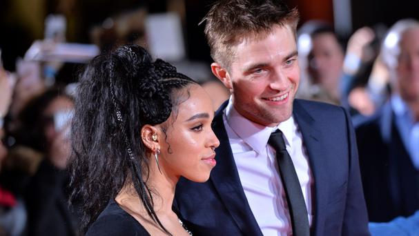 Robert Pattinson and FKA Twigs attending the Lost City Of Z UK Premiere in London