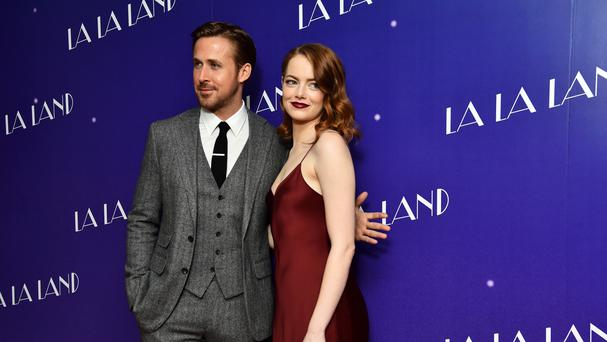 Ryan Gosling and Emma Stone star in La La Land, which has been nominated for 14 prizes