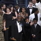 Mahershala Ali won the best supporting actor gong for his role in the film. (AP)