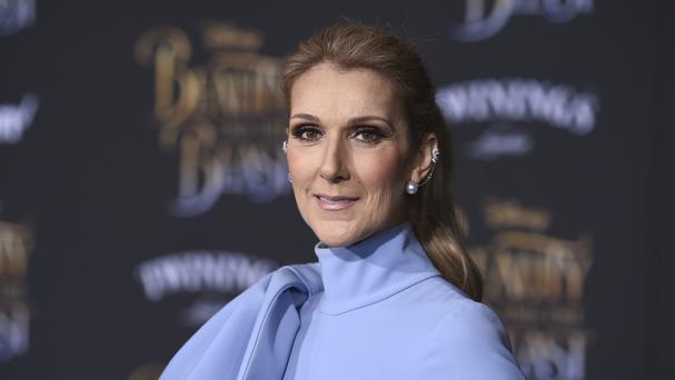 Celine Dion at the world premiere of Beauty And The Beast in Los Angeles (Invision/AP)