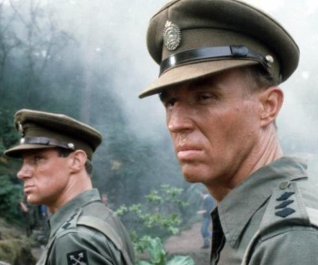 Monster performance: Tim Pigott-Smith (right) as Merrick, with Nicholas Farrell as Teddy Bingham, in Granada TV's 'The Jewel in the Crown' Photo: ITV/REX/Shutterstock