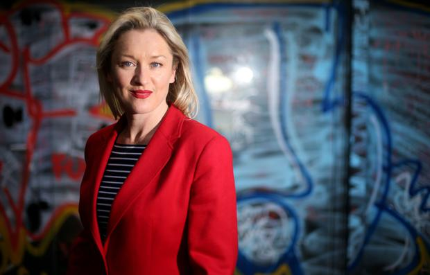 Performance artist Amanda Coogan says she 'needs all the stimulus that is Irish culture'. Photo: Gerry Mooney