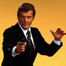 DEBONAIR AND EASY TO LIKE: Roger Moore as James Bond