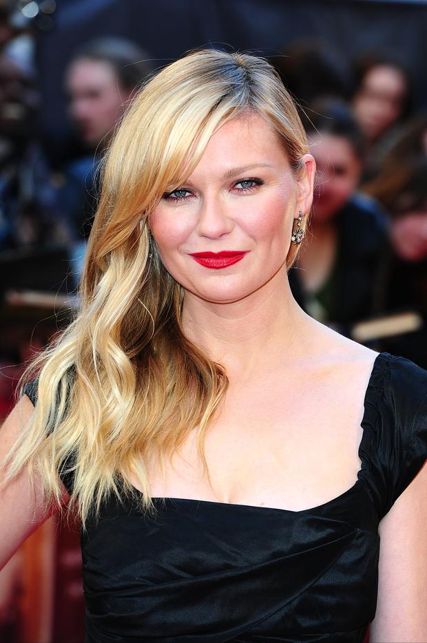Kirsten Dunst arriving at the UK Premiere of The Two Faces of January, at the Curzon Mayfair in central London.