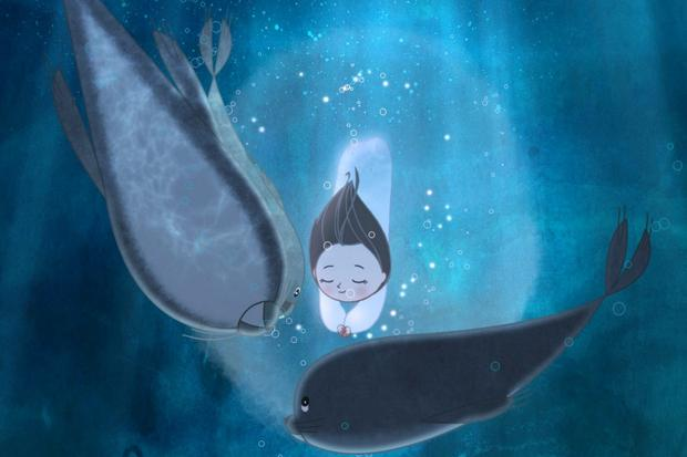 Still from Cartoon Saloon's Oscar nominated animation Song of the Sea