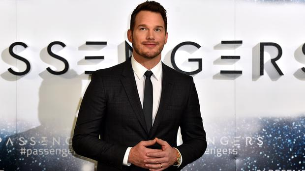 Chris Pratt will be back for the new Jurassic World (Matt Crossick/PA)