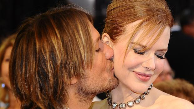 Keith Urban and Nicole Kidman (Ian West/PA)