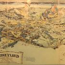 The map of Disneyland that fetched more than half-a-million pounds (Van Eaton Galleries/PA)