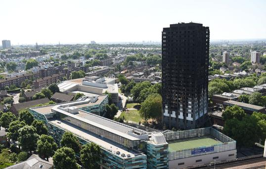 The Grenfell Tower (David Mirzoeff/PA)