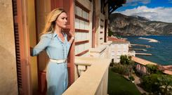 Behind the lens: Julia Stiles as Georgina in Riviera which has been criticised by Neil Jordan