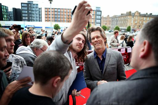 Kevin Bacon at the festival (Jane Barlow/PA)