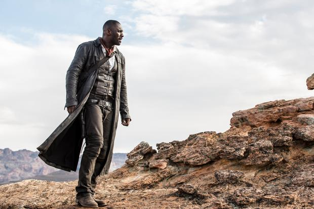 Gunslinger: Idris Elba as Roland in Columbia Pictures' The Dark Tower