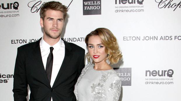 Liam Hemsworth and Miley Cyrus have rekindled their relationship (Tony Di Maio/PA)