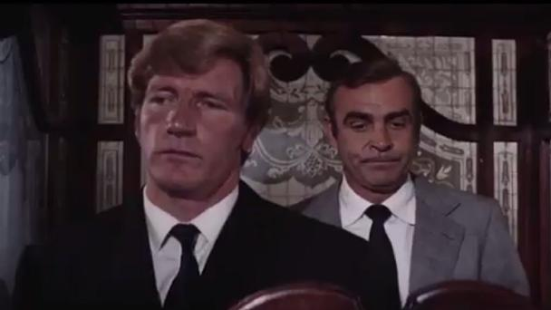 Joe Robinson and Sean Connery in Diamonds Are Forever (James Bond/United Artists Corporation)