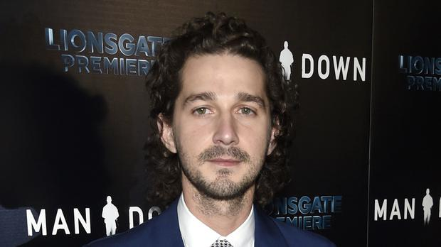 Shia LaBeouf was arrested after allegedly shouting obscenities (Chris Pizzello/AP)