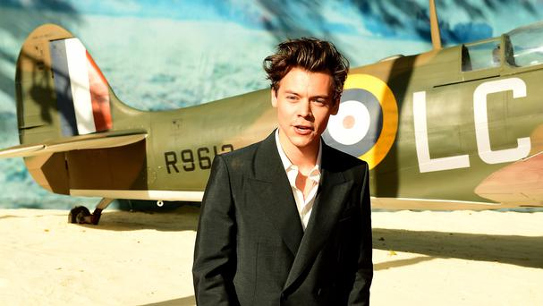 Harry Styles at the premiere for Dunkirk (Ian West/PA)