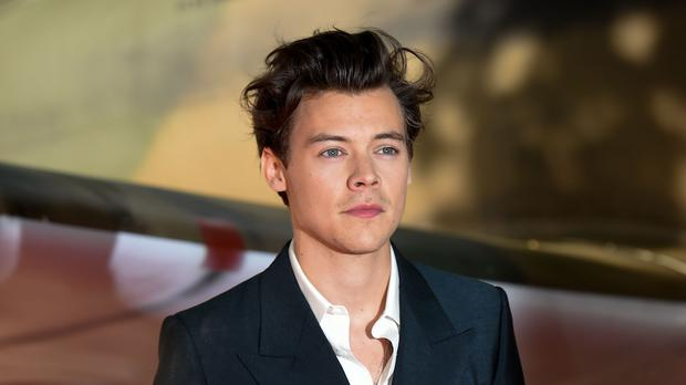 Harry Styles received good luck messages (Lauren Hurley/PA)