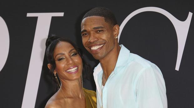 Jada Pinkett Smith with her brother Caleeb (Willy Sanjuan/AP)