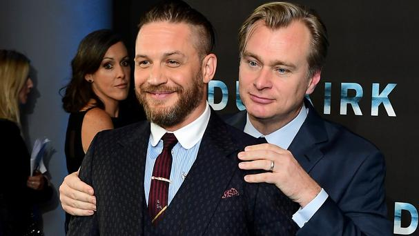 Christopher Nolan and Tom Hardy have worked together many times (Ian West/PA)