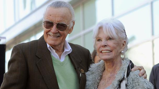 Stan Lee has hand, footprints immortalized in cement at TCL Chinese Theatre