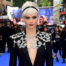 Cara Delevingne at the premiere (Ian West/PA)