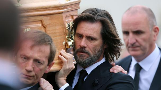 Jim Carrey is being sued over her death (Niall Carson/PA)