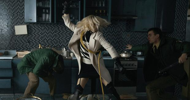 Gal power: Charlize Theron is more than a match for the bad guys in Atomic Blonde