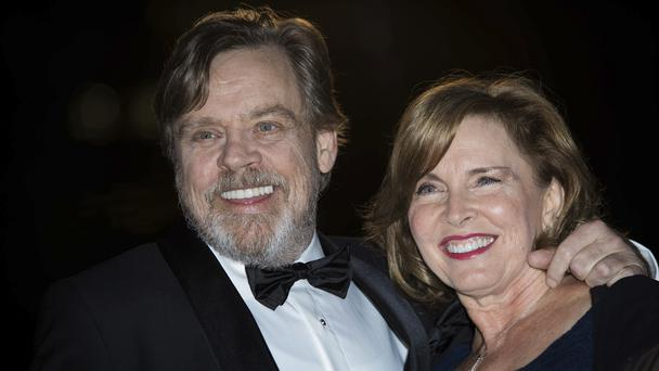 Mark Hamill and Marilou York at the GQ's Men of The Year awards