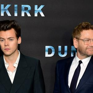 Dunkirk stars Harry Styles and Sir Kenneth Branagh at the film's premiere (Ian West/PA)