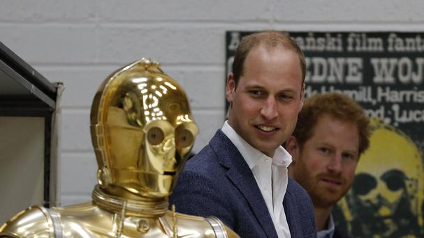 Royal visit to Pinewood studios