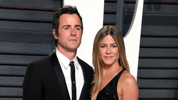 Jennifer Aniston and Justin Theroux met 'one last time' on Valentine's Day