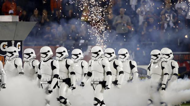 Stormtroopers take to the field