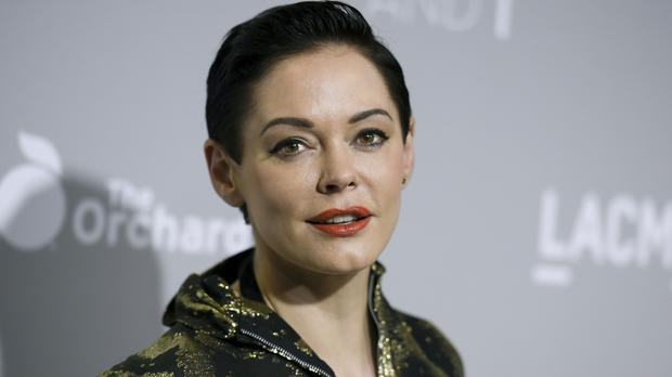 Harvey Weinstein Rose McGowan