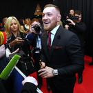 Conor McGregor attending the Conor McGregor: Notorious premiere