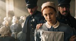Woman accused: Sarah Gadon as Grace Marks in 'Alias Grace'. Photo: Jan thijs